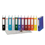 Biblioraft Esselte Economy plastifiat, 50 mm